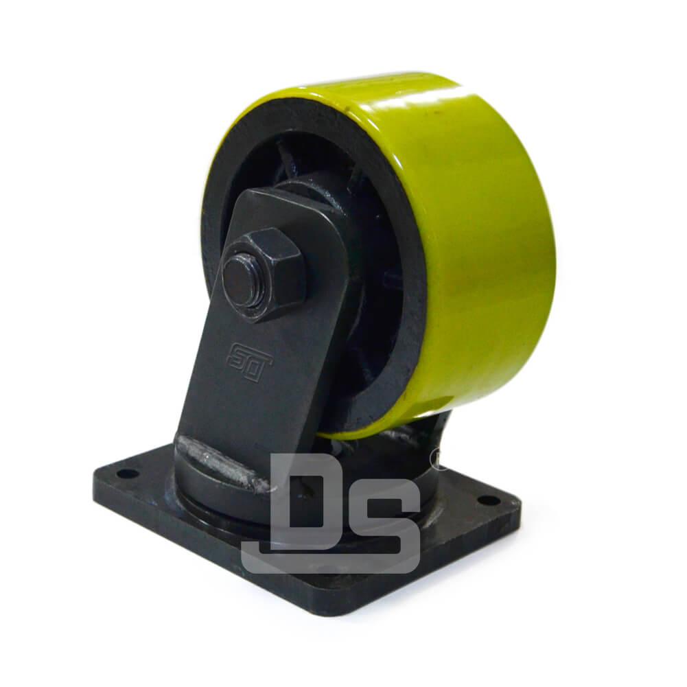 Heavy Duty Polyurethane Tread Cast Iron Core Swivel ...