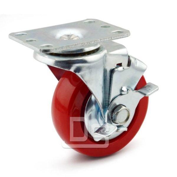 DS11-S-BK-A1-PVC-light-duty-casters
