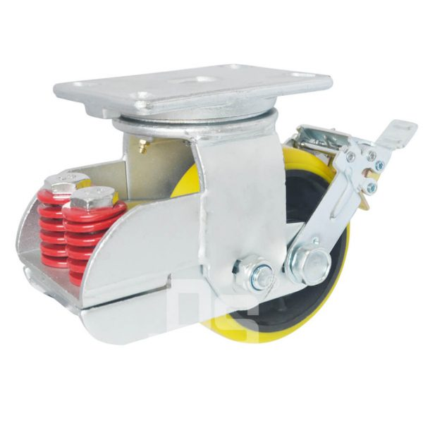 DS91-S-BK-A1-HUC-shock absorbing casters