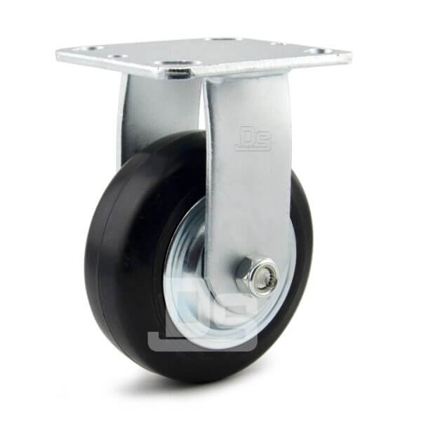 Heavy-Duty-Advanced-Rubber-Cast-Iron-Rigid-Caster-Wheels-1