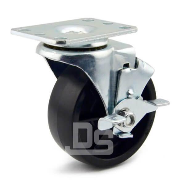 Heavy-Duty-PP-Swivel-Plastic-Caster-Wheels-with-Side-Lock-Brake-1