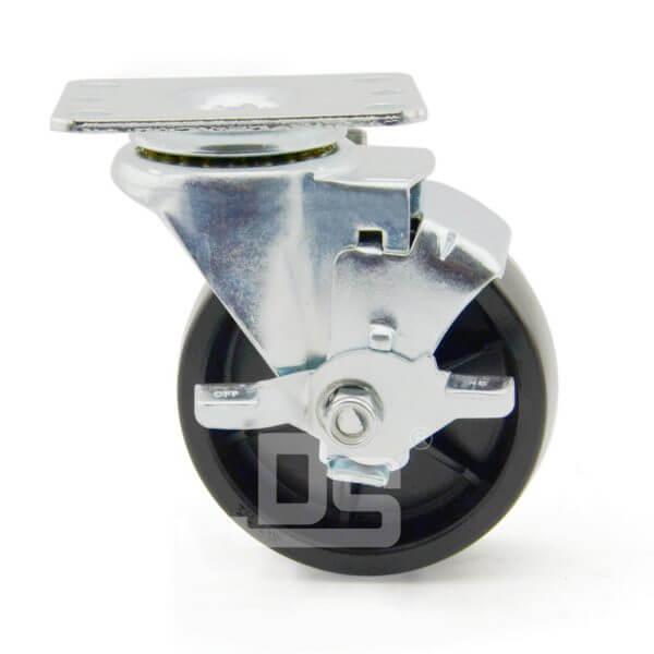 Heavy-Duty-PP-Swivel-Plastic-Caster-Wheels-with-Side-Lock-Brake-2