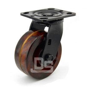 Heavy-Duty-Phenolic-260-Swivel-Iron-Core-Caster-wheels