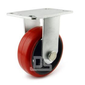 Heavy-Duty-Polyurethane-Cast-Iron-Rigid-Caster-wheels-1