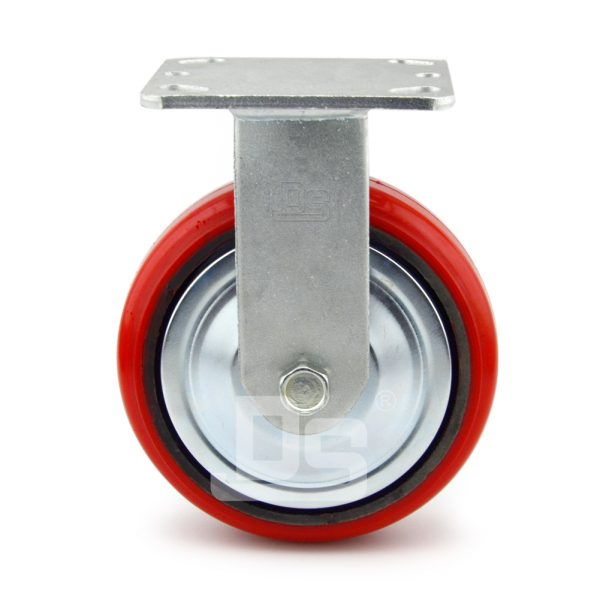 Heavy-Duty-Polyurethane-Rigid-Iron-Core-Caster-wheels-2