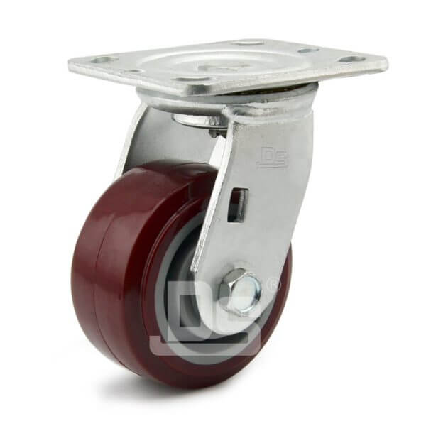 Heavy-Duty-Polyurethane-Swivel-Plastic-Wheels-1