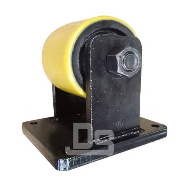 Heavy-Duty-Polyurethane-Tread-Cast-Iron-Core-Rigid-Casters-70-1