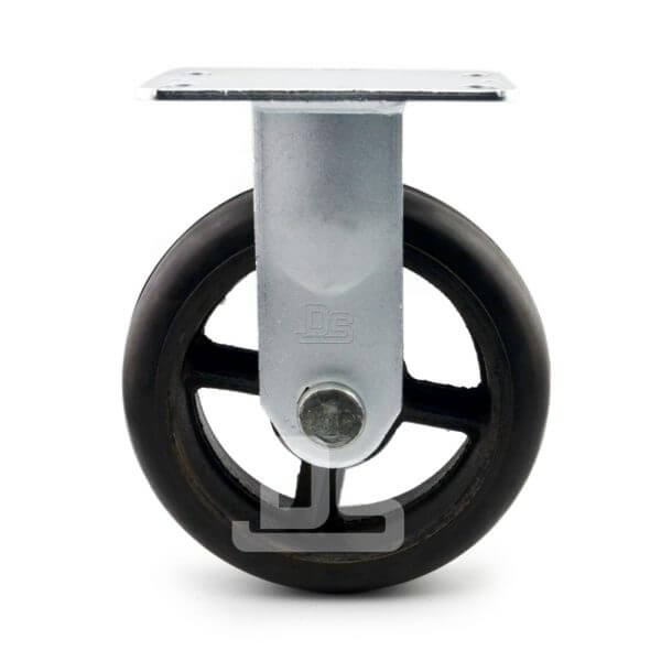 Heavy-Duty-Rubber-Cast-Iron-Rigid-Caster-wheels-2
