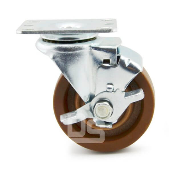 Light-Duty-Nylon-and-Glass-Fiber-Swivel-Caster-Wheels-with-Side-Lock-Brake-280-2