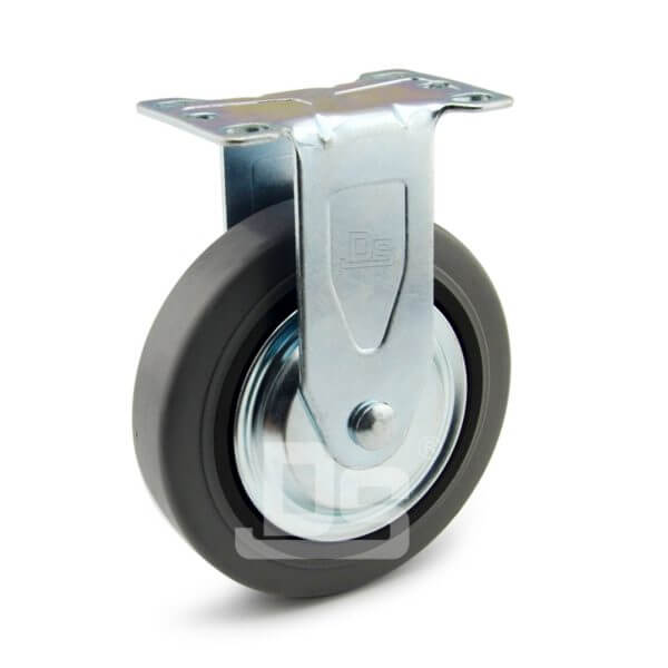 Light-Duty-Rubber-Tread-Plastic-Core-Rigid-Caster-Wheels-1