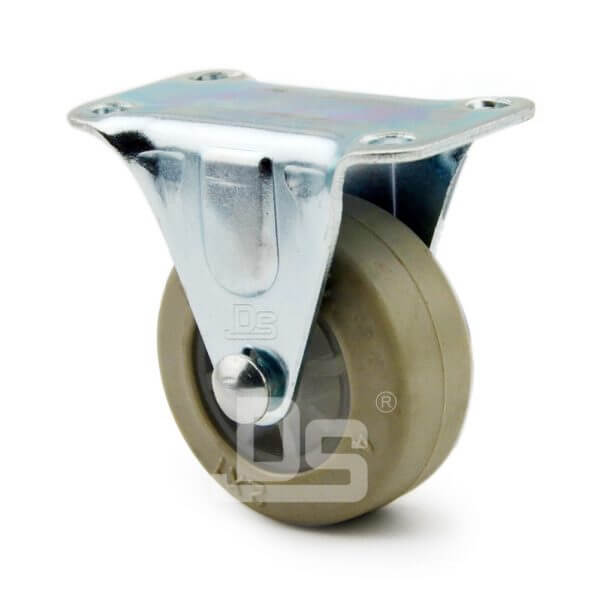Light-Duty-Rubber-Tread-Plastic-Core-Rigid-Caster-Wheels-3