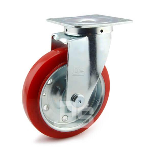 Medium-Duty-Polyurethane-Tread-Splint-Core-Swivel-Caster-Wheels-1