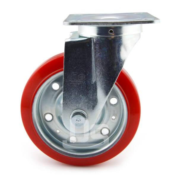 Medium-Duty-Polyurethane-Tread-Splint-Core-Swivel-Caster-Wheels-2