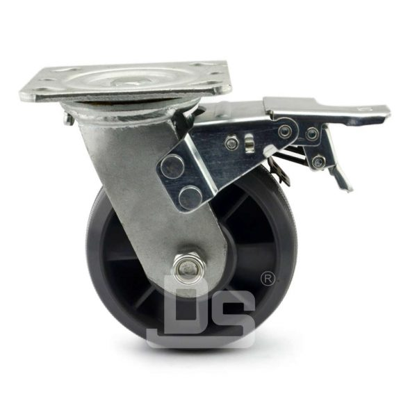 Nylon-Casters-With-Dual-Lock-Brake-2