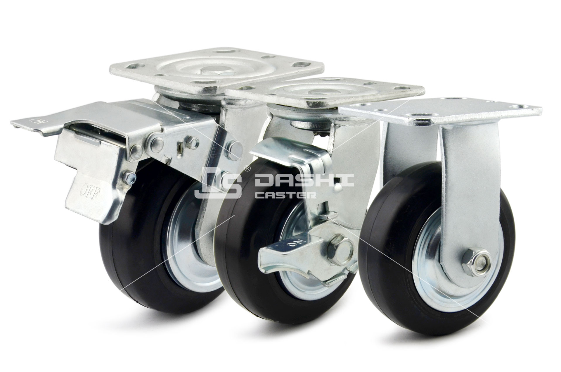 Pneumatic-and-Solid-Rubber-Casters