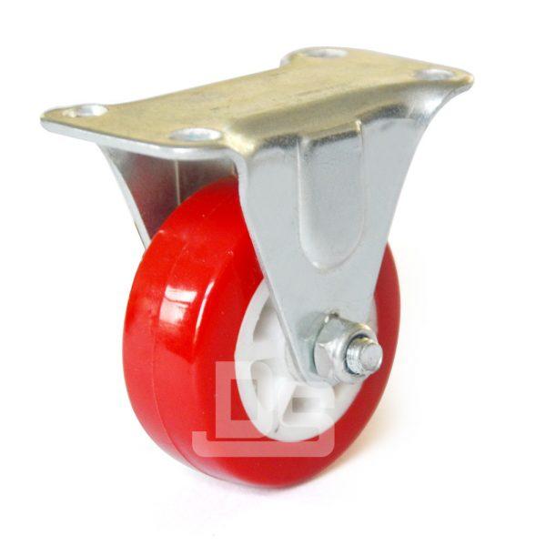 Polyurethane-Tread-Plastic-Core-Rigid-Casters-1