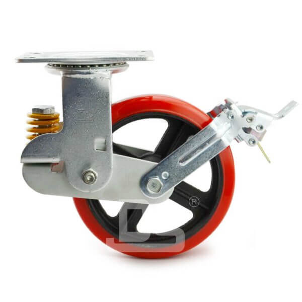 Spring-Shock-Absorbing-Swivel-Casters-With-Brake-2
