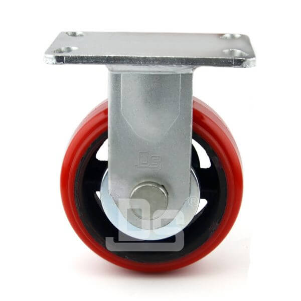 Super-Heavy-Duty-Polyurethane-Cast-Iron-Rigid-Caster-Wheels-2