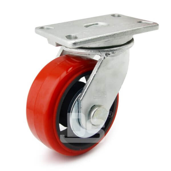 Super-Heavy-Duty-Polyurethane-Cast-Iron-Swivel-Caster-Wheels-1